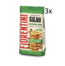 3x Fiorentini si&no Florentine Legumi Bio Mini-Corn Cakes with legumes 80g - $18.64