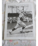 BABE RUTH REPRODUCTION PHOTO GLASS FRAME - $9.95