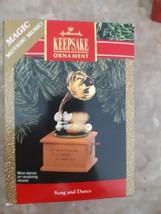 Hallmark Keepsake Ornament Song And Dance Magic Motion Music Mice Dance ... - $14.80
