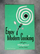 Vintage Enjoy Modern Cooking with HOTPOINT ELECTRIC RANGE Use & Care Guide - $8.95