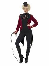 Smiffys Direttore di Pista Capobanda Circo Sexy Donne Adulte Costume Hal... - $33.73