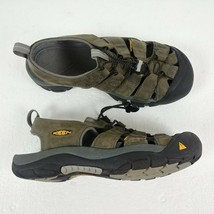 Keen Newport Sandals Neutral Gray Gargoyle 1010122 Mens Size 8 Trail Hiking - $44.37