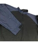 TRU Spec Combat Shirt Cordura Base Blue Black 1/4 Zip Pullover Sz 3XL  - $49.99
