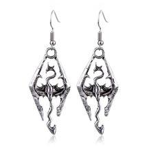 Gothic Style Skyrim / Elder Scrolls Themed Drop Earrings - Ladies / Women's - $13.99