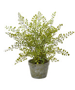 Maiden Hair Artificial Plant in Decorative Planter - $51.28