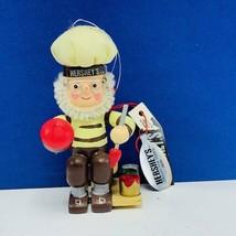 Hersheys Christmas ornament Kurt Adler collector series elf dwarf paint ... - $12.55