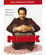 Monk the Complete Series (32 Disc DVD Box Set) Brand New - $49.95