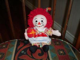 Applause Raggedy Ann Musical Doll 8 Inch Hasbro 2003 - $33.69