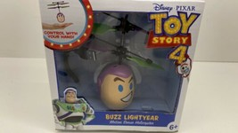 Disney Pixar Toy Story 4 BUZZ LIGHTYEAR Motion Sense Helicopter Toy NEW - $9.85