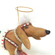"""Dept.56 Krinkles Large Dachshund In Scenic Suit Christmas Ornament #36606 13.5"""" - $108.90"""