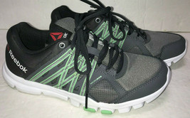 Reebok YourFlex Trainette 8.0 Shoes Womens 7.5 Cross Trainers Gray Seafo... - $25.47
