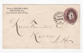 ENGLISH & HOLT NEW HAVEN CONNECTICUT OCT 16 1886 - $2.98