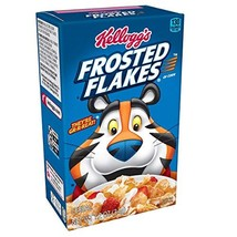 Kellogg's Breakfast Cereal, Frosted Flakes, Fat-Free, Single Serve, 1.2 oz BoxPa