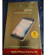 NEW Genuine ZAGG HD Clear Tough Glass Screen Protector For iPhone 5/5S/5... - $12.82