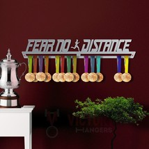 Fear No Distance Medal Hanger Display MALE - $45.69