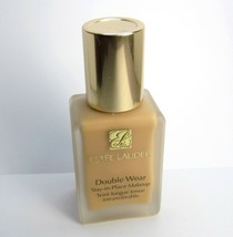 ESTEE LAUDER 4N1 Shell Beige Double Wear Foundation Stay in Place~DAMAGE... - $23.33