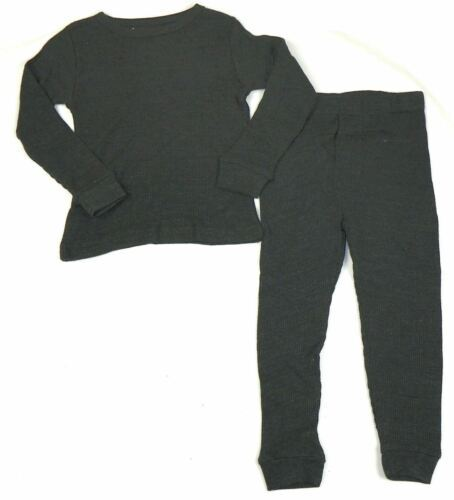Size 4 Boy's Thermal Underwear 2-Piece Set Cotton Blend Ice2O Brand Long Johns