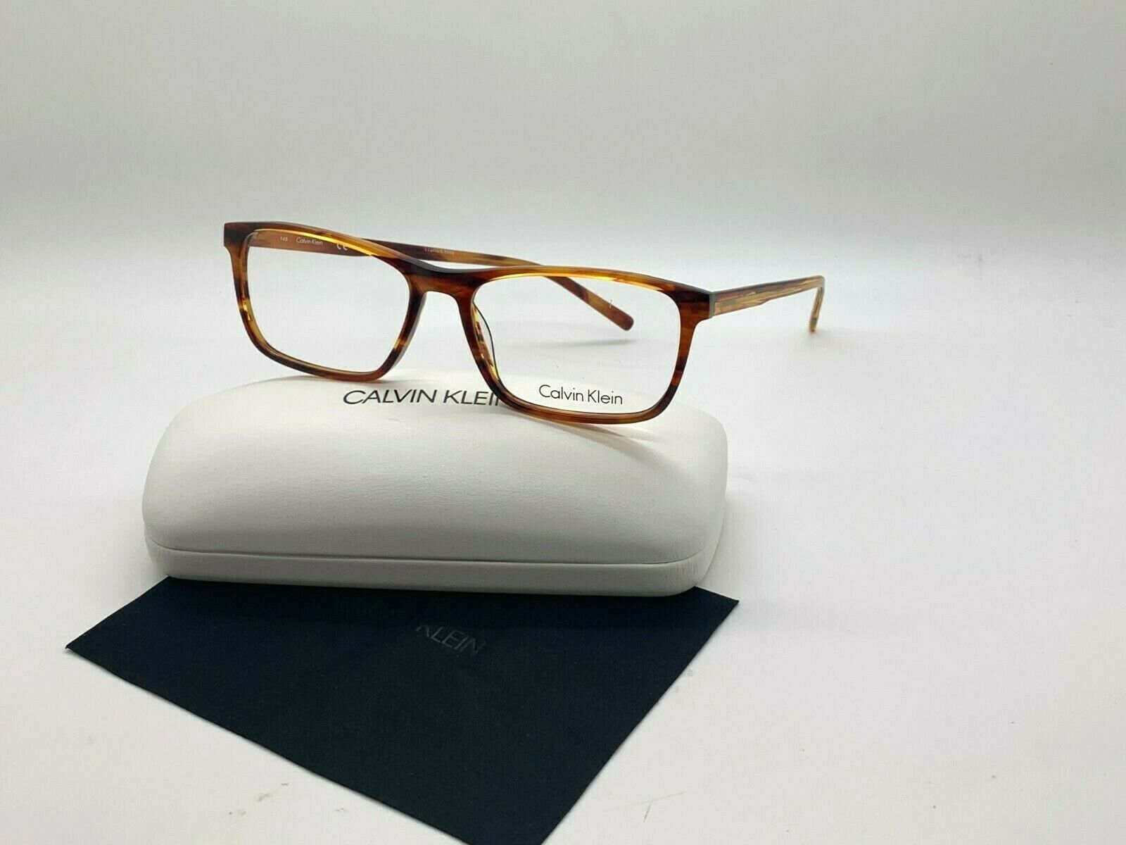 Calvin Klein CK 6009 203 STRIPPED HAVANA Eyeglasses Frames 55-16-145MM /CASE - $41.68