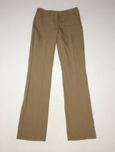 Express Editor Pants 00 Reg Barely Boot Womens Inseam 32 Tan NWT $79.90 - $53.22