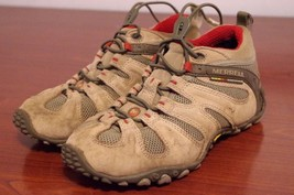Merrell Chameleon II Stretch Light Brown Vibram Hiking Shoes Women's Sz 6.5 - $38.26