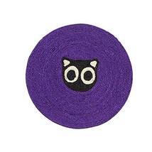 PANDA SUPERSTORE [Lovely Cat] Pet Toy- Cat Scratching Pad/Board,Cat Mat,Violet (