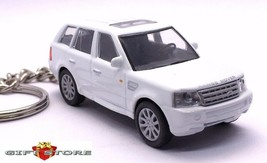 RARE KEY CHAIN WHITE LAND ROVER RANGE ROVER CUSTOM LIMITED EDITION NEW K... - $59.98