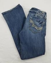 dd388a318e2 Womens Juniors Big Star Blue Denim Jeans Low Rise Kasey Fit 26 Short Pants  - $16.45