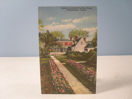 Ludwell Paradise House Williamsburg Virginia Curt Teich Linen Postcard 1942 - $5.55