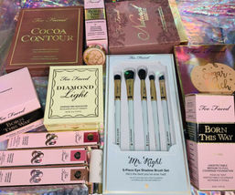 Huge Lot New In Box Too Faced Born This Way Sugar Peach Cocoa Contour Diamond image 9