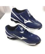 Mizuno 9 Spike Classic G6 Low Switch Metal Baseball Cleats Blue Men's 15 US - $19.18