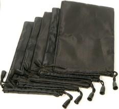 5pcs Black Nylon Pouch Bag Soft Case Sunglasses Eyeglasses Glasses Cell ... - $4.95