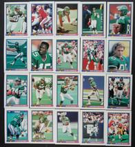 1991 Bowman New York Jets Team Set of 20 Football Cards  - $3.00