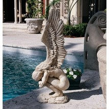 Garden Decor Statue Religious Angel Yard Lawn Large Sculpture Landscape ... - $206.58