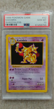 Pokemon Kadabra 32/102 Shadowless Base Set PSA 10 1999 Pokemon TCG - $79.99