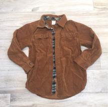 Gymboree Brown Corderoy Flannel Shirt - $24.75