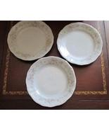 "Lot 3 6.25"" bread butter Plates Johann Haviland Floral Splendor Bavaria ... - $12.99"