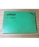 Vintage 1957 AUTOBRIDGE Card Board Game Masonite • MA Advanced Bridge Pl... - $27.67