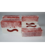 Soap - Strawberries and Cream Goat Milk Soap / Goat Milk Glycerin Soap - $4.90