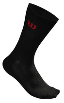 Wilson - WRA510701 - Men's Crew Sock - Pack of 3 - Black - $19.75