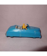"Vintage Renwal 104 Convertible Car With Driver 4"" Hard Plastic Scale Mod... - $15.99"