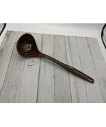 "Vintage Foley #3 Brown Nylon Plastic Ladle Dipper Spoon 11 1/2"" - $8.99"