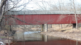 Frankenfield Covered Bridge 13 x 19 Unmatted Photograph - $35.00
