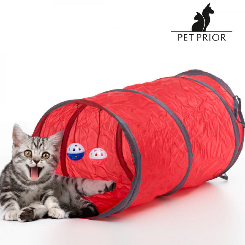 Pet Prior Toy Tunnel for Cats (3 pieces)