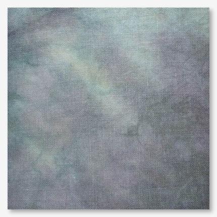 FABRIC CUT 32ct haunted linen 18x27 Mummy's Moonlight Cafe Praiseworthy Stitches - $26.00