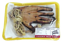 Meat Market Peeled Hand Latex Prop Body Parts Gory Halloween Realistic F... - £23.51 GBP