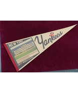 1977 New York Yankees Pennant World Series Champs Team Picture Pennant - $69.29