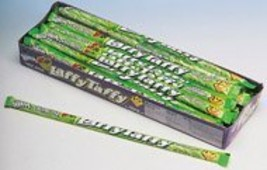 Laffy Taffy Apple Ropes 0.81oz, 24-Count Box - $14.85