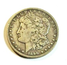 1890 O  MORGAN SILVER DOLLAR  (FINE)  MS++ #200009 - $39.60