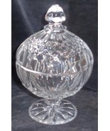 Longchamp™ Lead Crystal Covered Footed Candy Dish - BRAND NEW IN BOX - P... - $29.69