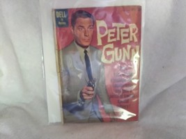 Peter Gunn Comic Book, Dell TV Mystery, April-June 1960 - $2.25